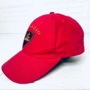 BELLAGIO RED VELVET TOUCH CAP HAT